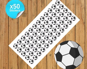 50 Football/Soccer Planner Stickers