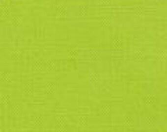Chartreuse Kona Cotton Solid 25cm