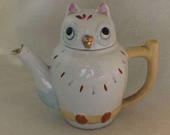 Owl Teapot (#010)