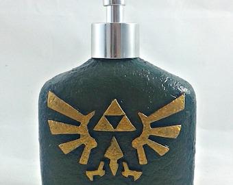 Triforce Wingcrest Crest Soap Dispenser