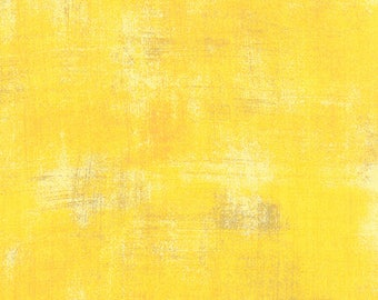 Grunge Basics in Sunflower by Basic Grey for Moda Fabrics 1/2 Yard