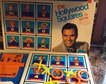 Vintage 1974 Hollywood Squares Game