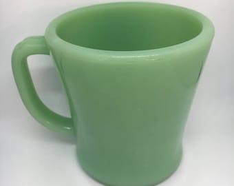 Vintage Anchor Hocking Fire King Jadeite Mug