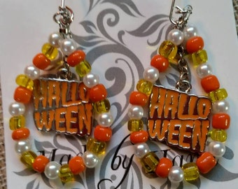 Happy Halloween Earrings