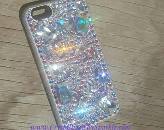 Absolutely Adorable Crystallized iPhone Lumee Cell Phone Case Adorned with Swarovski Crystals