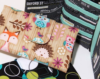 Wallet Pattern PN209 Womens Tri-fold Cash Wallet Sewing Pattern by SusieDDesigns