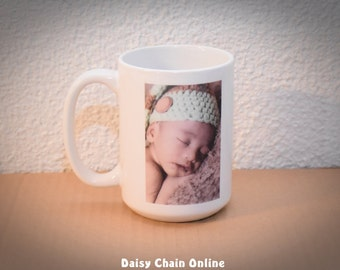 Custom Photo Coffee Mug * Birthday Gift * Personalized Coffee Cup * Ceramic Mug * Photo Mug * Custom Photo Mug * Custom Coffee Mug Logo Mug