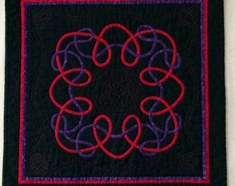 Quilted Wall Art Celtic Knot