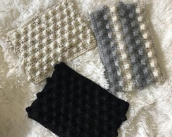 Crochet cowl & headband Set
