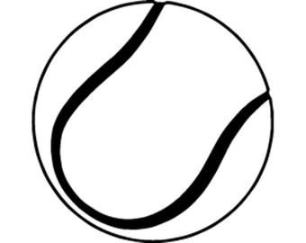 tennis ball art etsy rh etsy com