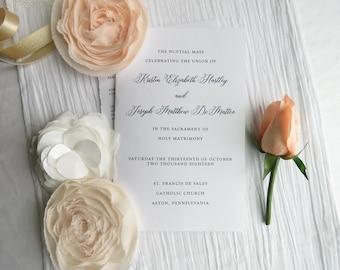 Wedding Programs     wedding programs     ceremony program     programs  Script COLLECTION Style P118