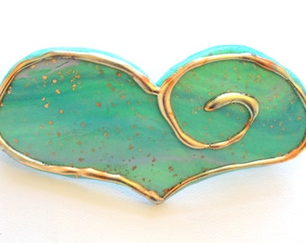 Barrette Hair Barrette Hair Clip Hair Accessory Hair Jewelry Hand Made Polymer Clay Barrette French Clip Hair Clip for Updos French HairClip