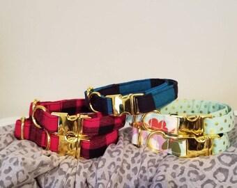 Dog collar- ready to ship size small