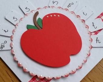Personalised teacher/ TA thank you card