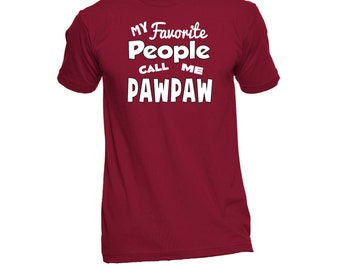 PawPaw T-Shirt (Any Name) - PawPaw Shirt - PawPaw TShirt - PawPaw T Shirt - Gift For PawPaw - Grandpa To Be - Grandparent Gifts
