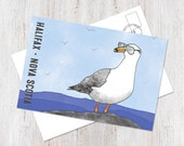 Hipster Halifax seagull w...