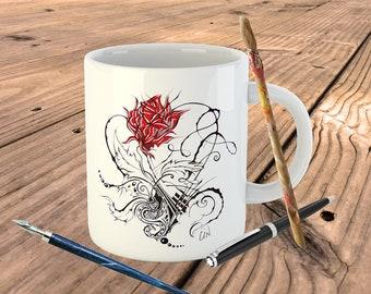 """Mug """"CIN rose"""""""