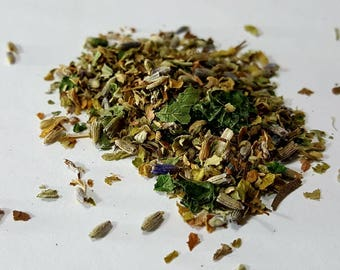 Herbal Blend for Cats with Catnip, Lemon Balm and Lavender Blossoms