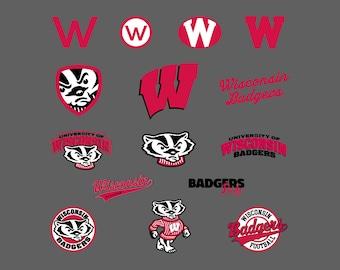 Wisconsin Badgers.Svg.Dfx.Eps.Pdf.Png.JPG.