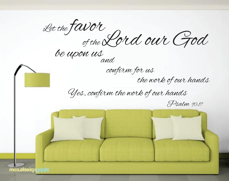 Scripture Wall Art Psalm Wall Art Typography Inspirational