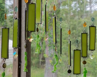 Windchime  Stained Glass, Zombies