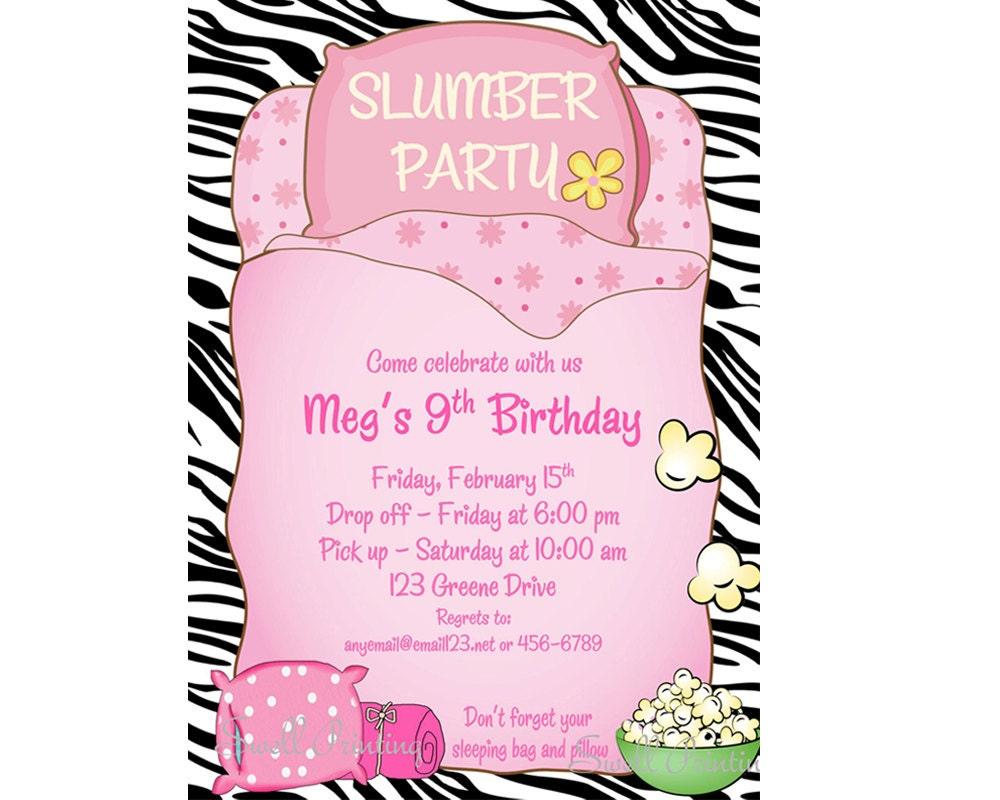 Birthday sleepover invitations idealstalist birthday sleepover invitations stopboris Gallery