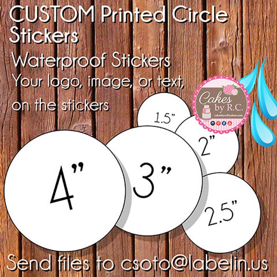 waterproof circle labels , waterproof labels, waterproof stickers, circle  labels , round waterproof stickers, beauty product labels,labelin