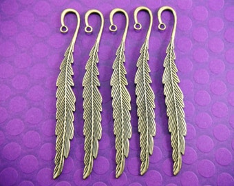 Bronze Feather Bookmarks (Quantity of 5) Misc002