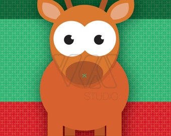 Rudolph the red nose   Etsy