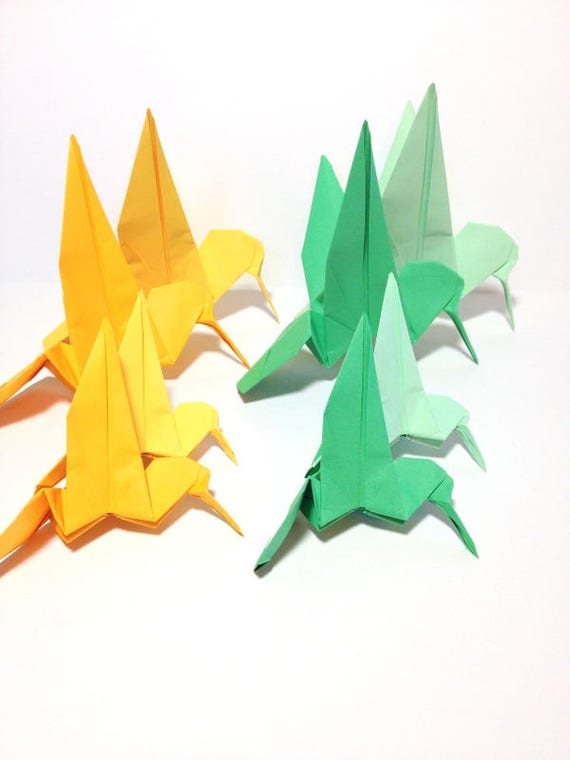 Hummingbird Garland Origami Hummingbirds Wedding Backdrops