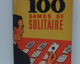 100 Games of Solitaire Card Game Book