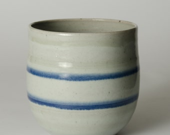 """I call this """"Mom's Cup Vase"""".  Stoneware, approx 10"""" tall"""