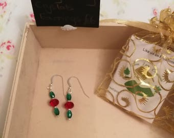 Holly and Berry Earrings
