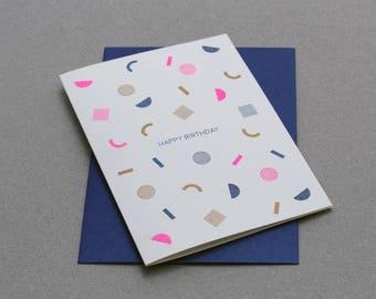 Card Pattern - Happy Birthday