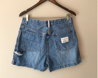 Vintage GUESS - Denim Short Shorts  - Size 32