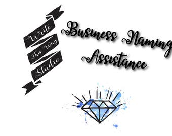 Business Naming Assistance - Writing Service - Write This Way Studio - Custom Business Naming Service - Business Services - Business Writing