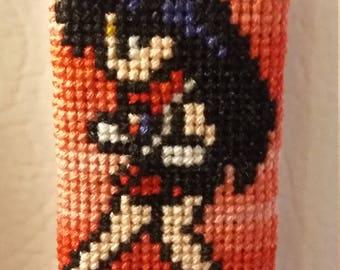 Sailor Mars Plush Cross Stitch Magnet