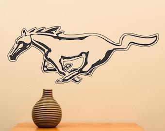 Mustang ... Vinyl Wall Decal Sticker Home Decor Art Sharp