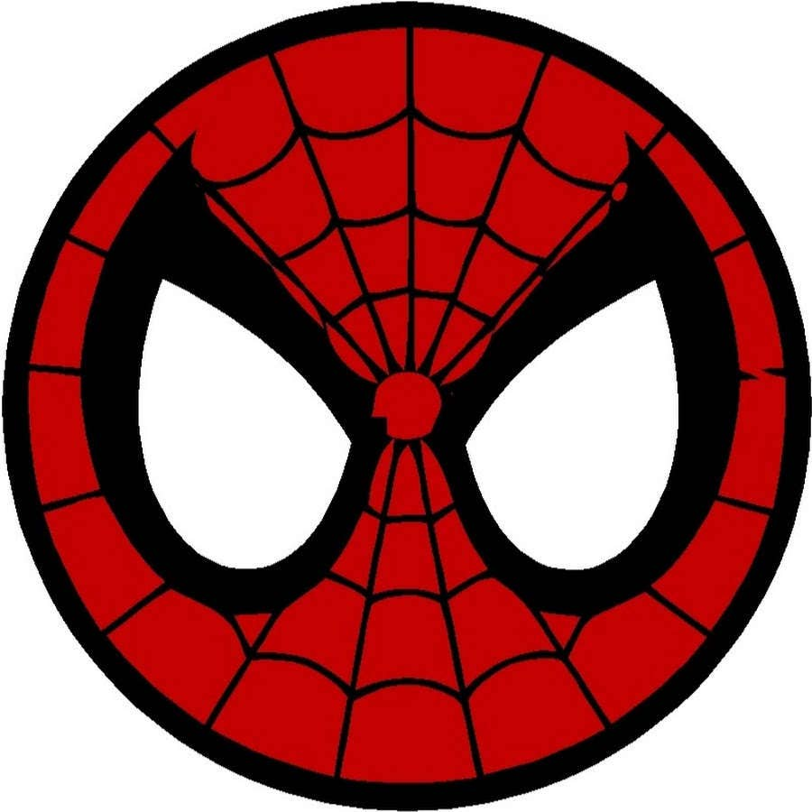 Circle spiderman mask downloadable cross stitch pattern pdf from this is a digital file jeuxipadfo Images