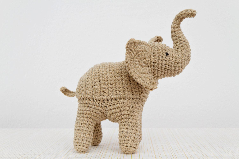 Lujoso Patrón De Crochet Libre De Elefante Componente - Ideas de ...