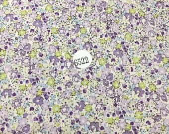 FABRIC : Flower Printed  100% Cotton Light Weight Fabric 03