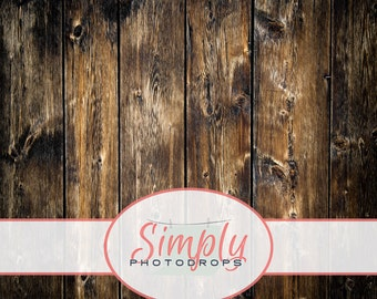 Vinyl Backdrop, Old Barn Wood , Photography Backdrop // Simply Photodrops Premium vinyl backdrop