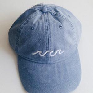 Three Waves Baseball Cap - Periwinkle