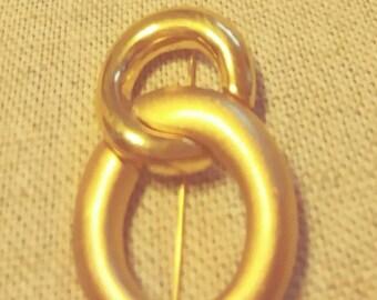 Monet Gold Pin