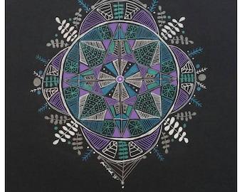 Winter's Mandala