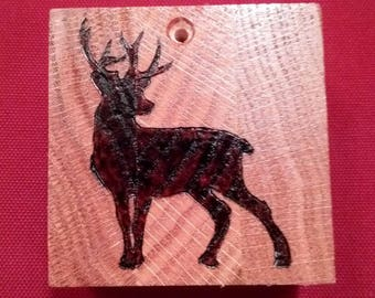 Deer Silhouette Ornament