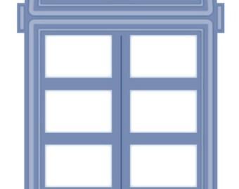 Sue Wilson Dies CHOOSE: Arched Window/Door, Window Shutter Valance, 3D Window Box Accessories
