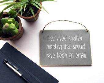 Funny Gift For Coworker | Cubicle Decor | Funny Office Decor | Coworker Funny Gift | Best Selling Items | Office Gifts For Men | Unique Gift