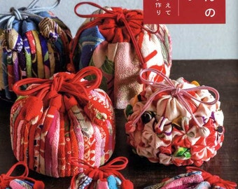 Traditional Japanese Chirimen Cute Items - Japanese Craft Book