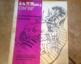 1985 piano book Jazz ect on 88 level 3